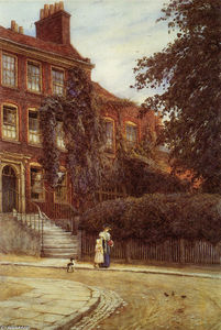 Helen Allingham (Helen Mary Elizabeth Paterson) - Stanfield House, Hampstead