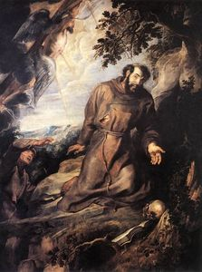 Peter Paul Rubens - St. Francis of Assisi Receiving the Stigmata