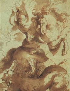 Peter Paul Rubens - St. George Slaying the Dragon