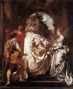 Peter Paul Rubens - St. Gregory the Great with Saints