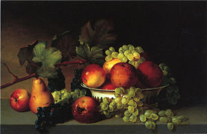 James Peale - Still Life: Apples, Grapes, Pear