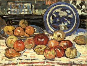 Maurice Brazil Prendergast - Still Life with Apples