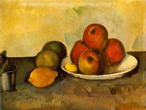 Paul Cezanne - Still Life with Apples