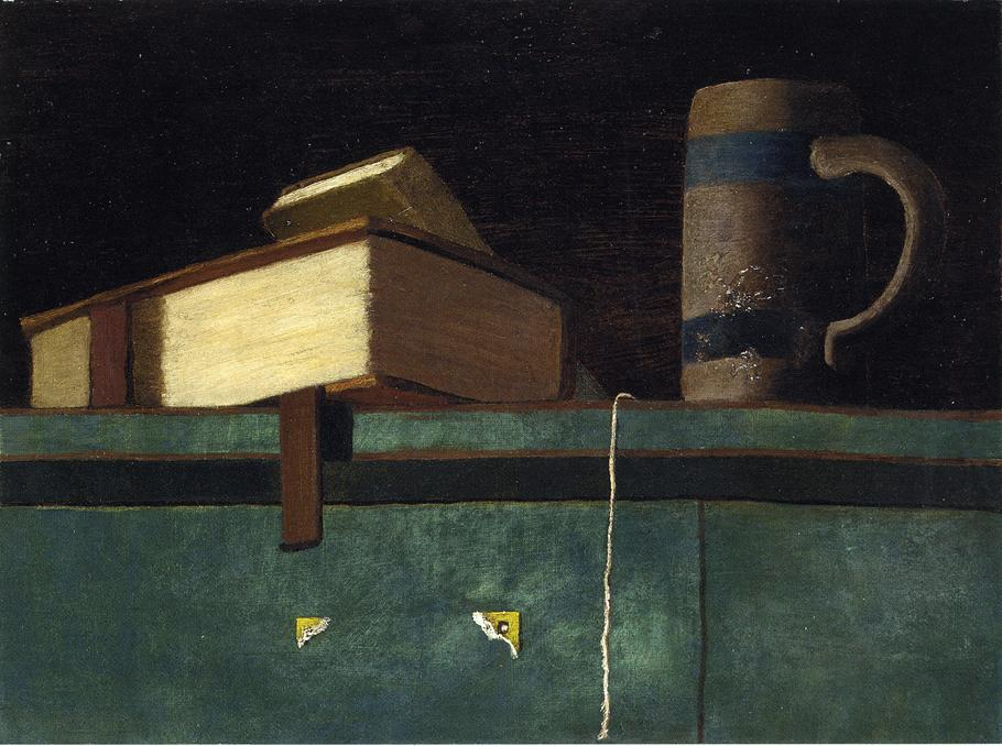 Still Life with Books and Mug by John Frederick Peto (1854-1907, United States) | Museum Quality Reproductions | WahooArt.com