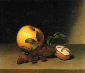 Raphaelle Peale - Still Life with Cake