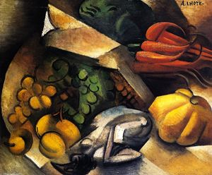 Andre Lhote - Still LIfe with Chicken