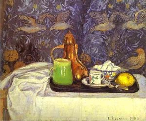 Camille Pissarro - Still Life with a Coffee Pot