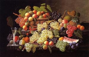 Severin Roesen - Still Life with Fruit (17)