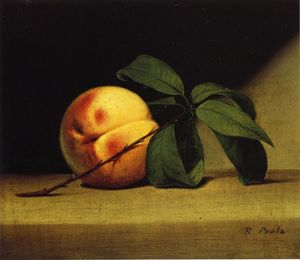 Raphaelle Peale - Still Life with Peach