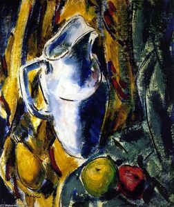 Alfred Henry Maurer - Still Life with Pitcher and Fruit