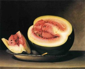 Raphaelle Peale - Still Life with Watermelon