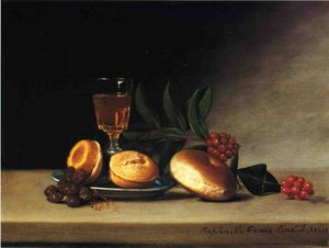 Raphaelle Peale - Still Life with Wine Glass