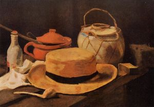 Vincent Van Gogh - Still Life with Yellow Hat