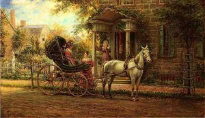 Edward Lamson Henry - Stopping for a Chat