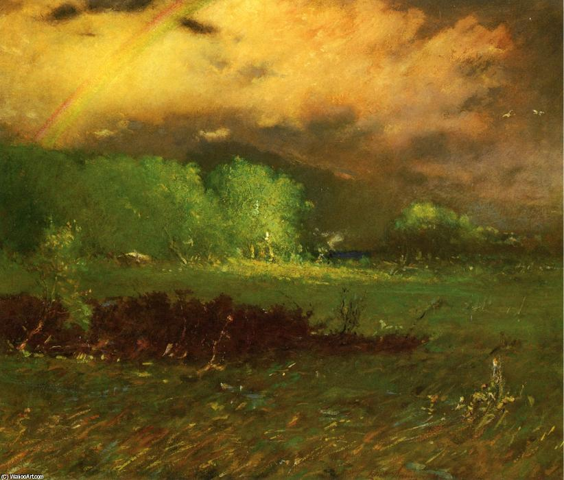 Buy Museum Art Reproductions | Storm Breaking Up, 1912 by Elliott Dangerfield (1859-1932, United States) | WahooArt.com