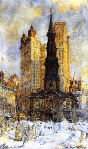 Colin Campbell Cooper - St. Paul's Chapel
