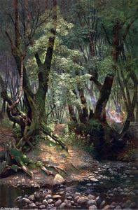 Edwin Deakin - Strawberry Creek
