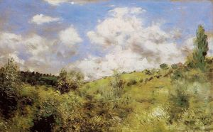 Pierre-Auguste Renoir - Strong Wind (also known as Gust of Wind)
