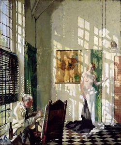 William Newenham Montague Orpen - The Studio