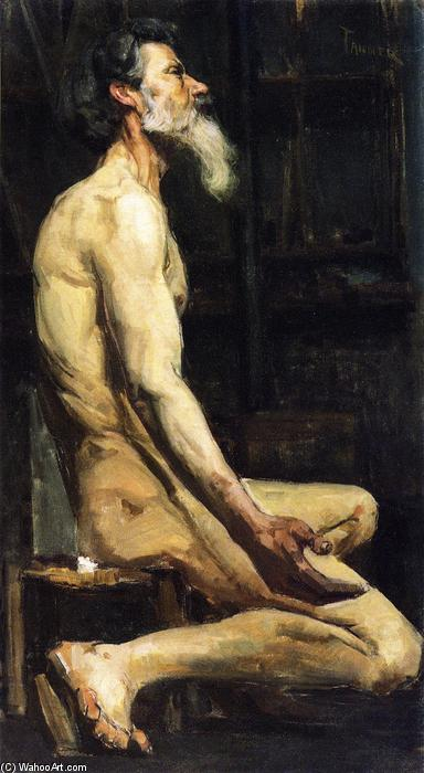 Order Art Reproduction : Study for Androcles, 1885 by Henry Ossawa Tanner (1859-1937, United States) | WahooArt.com