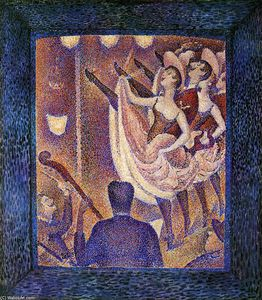 Georges Pierre Seurat - Study for 'Chahut'