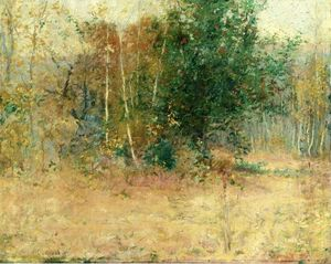 John Leslie Breck - Study for -Indian Summer-
