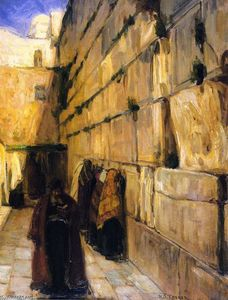 Henry Ossawa Tanner - Study for The Jews' Wailing Place