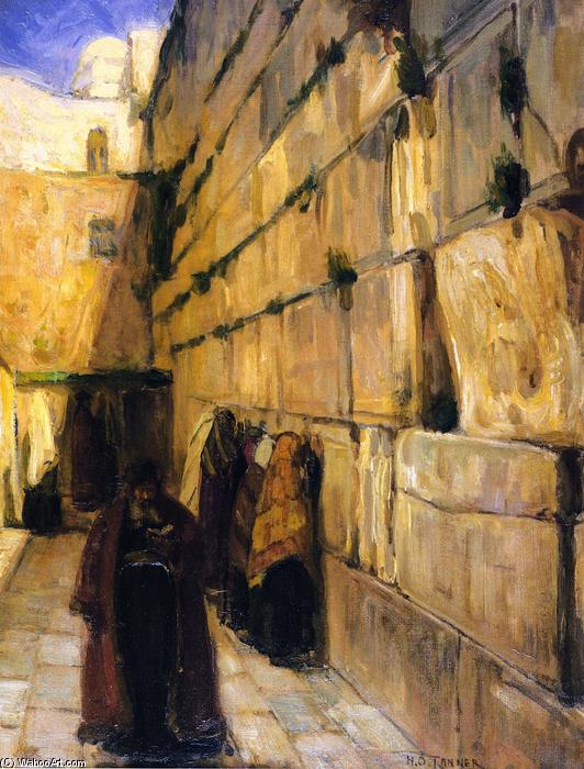 Study for The Jews` Wailing Place, 1897 by Henry Ossawa Tanner (1859-1937, United States) | Art Reproduction | WahooArt.com