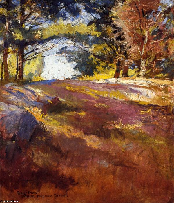 Study for `On Bos`n`s Hill, 1901 by Edmund Charles Tarbell (1862-1938, United States) | Museum Quality Reproductions | WahooArt.com