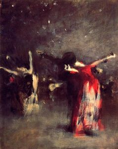 John Singer Sargent - Study for The Spanish Dance