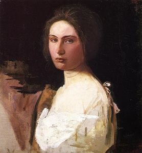 Abbott Handerson Thayer - Study of Alma Wollerman