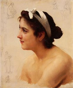 William Adolphe Bouguereau - Study of a Woman