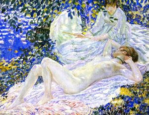 Frederick Carl Frieseke - Summer