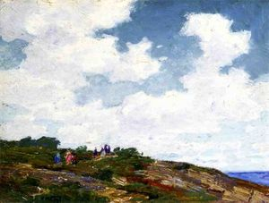 Edward Henry Potthast - A Summer Day