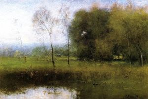 George Inness - Summer, Montclair (also known as New Jersey Landscape)