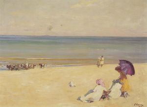 John Lavery - A Summer-s Day