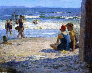 Edward Henry Potthast - Sun and Shade