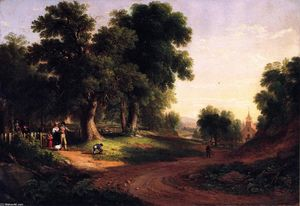 Asher Brown Durand - Sunday Morning