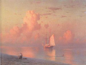 Ivan Aivazovsky - The sunset