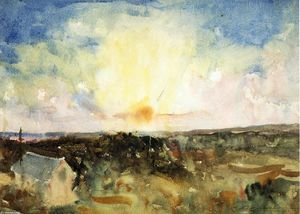 Charles Webster Hawthorne - Sunset Spendor