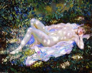 Frederick Carl Frieseke - Sunspots