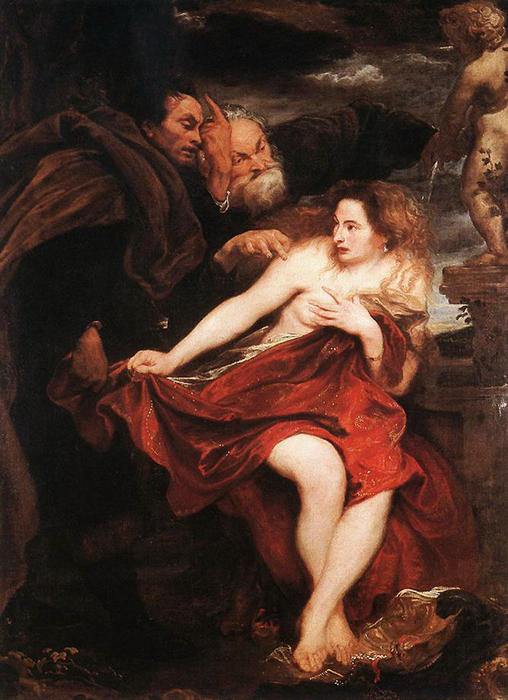 Order Museum Quality Copies | Susanna and the Elders, 1622 by Anthony Van Dyck (1599-1641, Belgium) | WahooArt.com