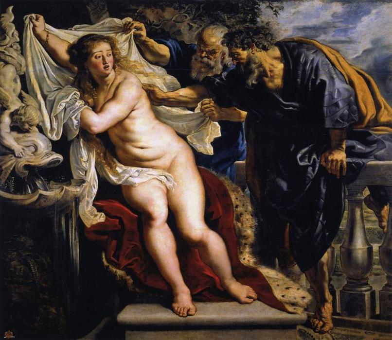 Susanna and the Elders, 1610 by Peter Paul Rubens (1577-1640, Germany) | Museum Quality Copies Peter Paul Rubens | WahooArt.com