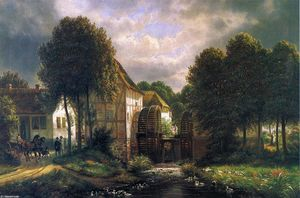 Joachim Ferdinand Richardt - Swedish Mill