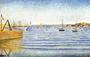Paul Signac - The Swell, Portrieux, Opus 190