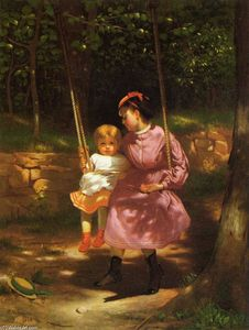 John George Brown - The Swing