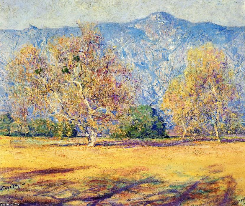 The Sycamores, Pasadena, Oil On Canvas by Guy Orlando Rose (1867-1925, United States)