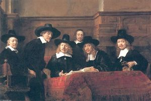 Rembrandt Van Rijn - The Syndics
