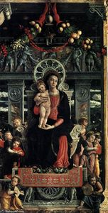Andrea Mantegna - San Zeno Polyptych (central panel)
