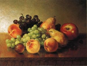 Robert Spear Dunning - Tabletop with Fruit